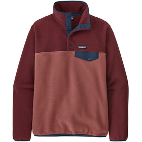 Patagonia Lightweight Synch Snap-T Pullover Donna, rosso